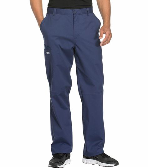 Cherokee WorkWear  Core Stretch Men's Fly Front Pant WW200T