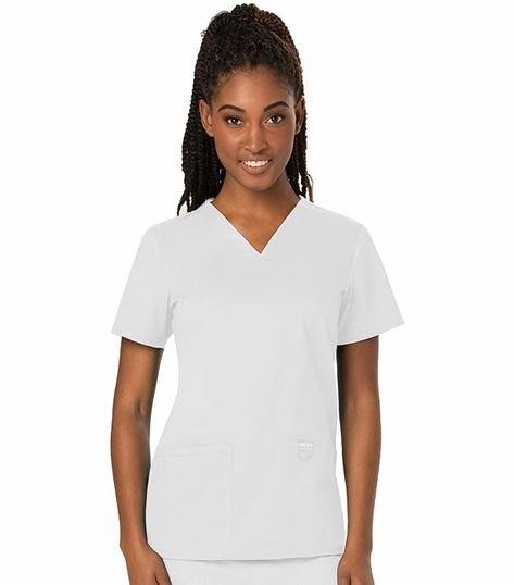 Cherokee Workwear Revolution Women's V-Neck Solid Scrub Top-WW620