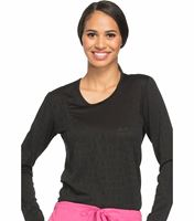 Cherokee WorkWear Core Stretch Women's Long Sleeve Breast Cancer Awareness Underscrub-WW660