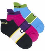 WonderWink Accessories 3Pack No Show Socks 485