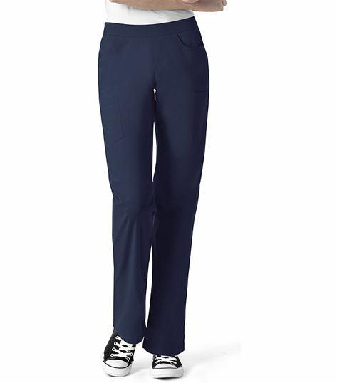 I Love WonderWink Women's Elastic Waist Cargo Scrub Pants-5288