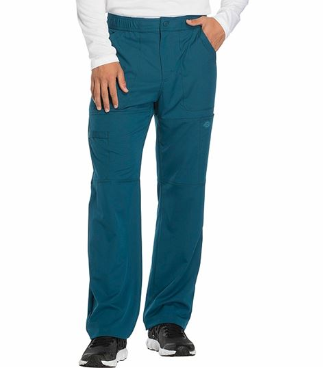 Dickies Dynamix Men's Stretch Elastic Waist Cargo Scrub Pants-DK110