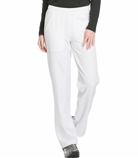 Dickies Dynamix Women's Straight Leg Elastic Waist Scrub Pants-DK120
