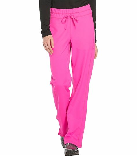 Dickies Dynamix Women's Straight Leg Drawstring Scrub Pants-DK130