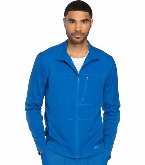 Dickies Dynamix Men's Zip Front Warm-Up Scrub Jacket-DK310
