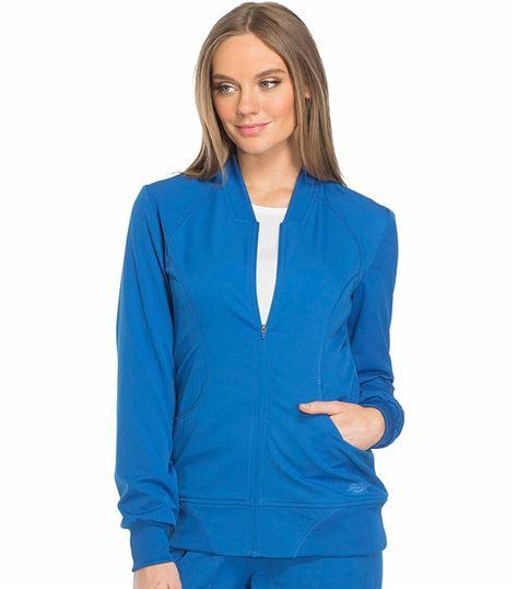 Dickies Dynamix Women's Zip Front Warm-Up Scrub Jacket-DK330