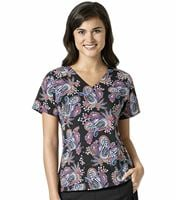 Vera Bradley Halo Women's Printed V-Neck Scrub Top-V6117