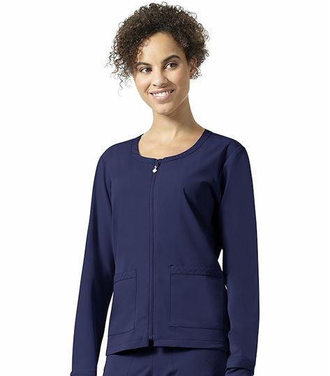 Vera Bradley Halo Women's Julia Zip Up Warm Up Scrub Jacket-V8109