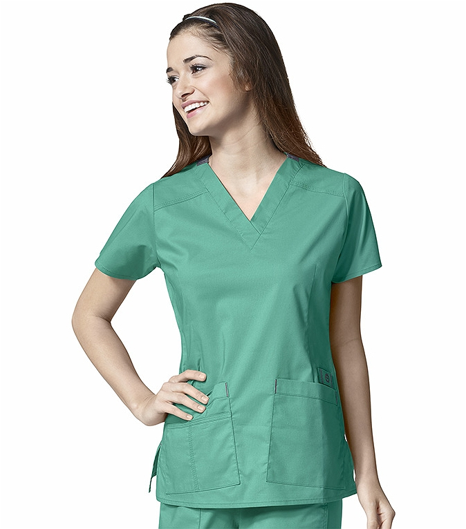 Wonderwink Wonderflex Women's Solid V-Neck Scrub Top-6108 ... WonderWink WonderFLEX Women's Solid V-neck Scrub Top-6108 ... Woman Jackets and Blazers wonder woman scrub jacket