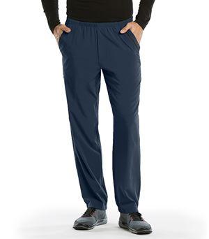 Barco One Men's Athletic Elastic Waist Cargo Scrub Pants-0217