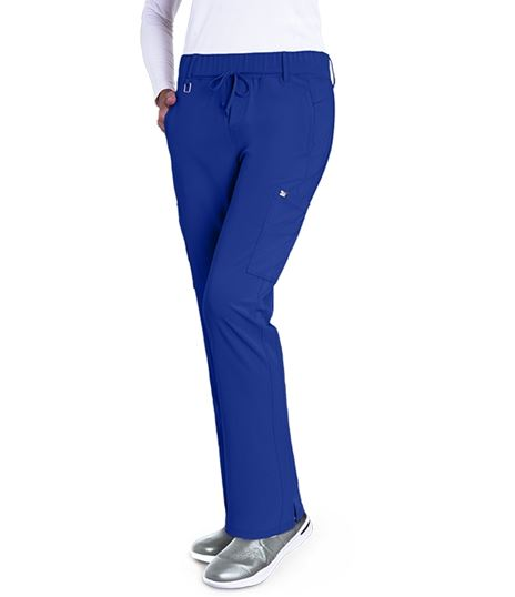 Grey's Anatomy Signature Women's Olivia Cargo Trouser Scrub Pants-2218
