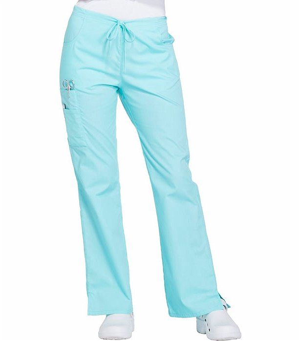 58c20eb7e6f Dickies EDS Signature Women's Drawstring Cargo Scrub Pants-86206 | Medical  Scrubs Collection