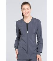 Cherokee Infinity Women's Zip Front Warm-Up Scrub Jacket-CK370A