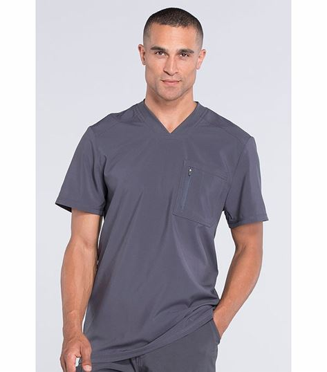 Cherokee Infinity Men's Athletic V-Neck Scrub Top-CK910A