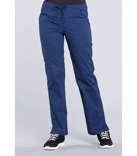 Cherokee Workwear Professionals Women's Straight Leg Drawstring Scrub Pants-WW160