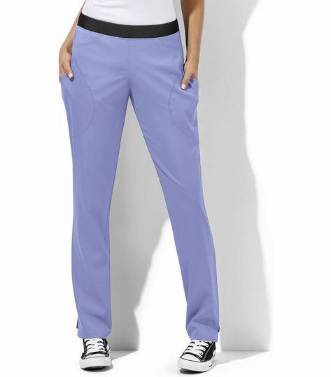 WonderWink WonderTech Women's Elastic Waist Cargo Scrub Pants-5113