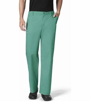 Wonderwink Wonderwork Men's Straight Leg Cargo Scrub Pants-503