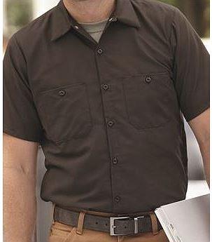 Red Kap Industrial Short Sleeve Work Shirt SSSP24
