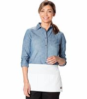 Dickies Chef 3 Pocket Server Waist Apron - 6 Pc Pack DC56BC06