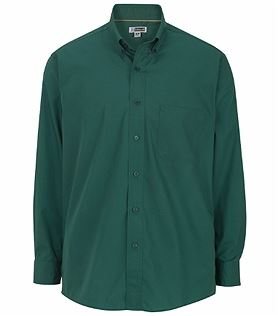 Edwards Men's lightweight long sleeve poplin shirt EW1295