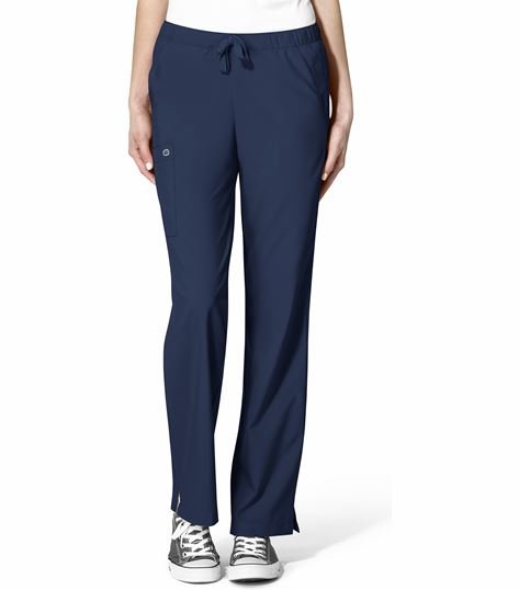 WonderWink 123 Women's Drawstring Cargo Scrub Pants-5255