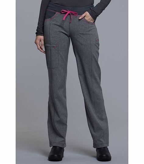 Cherokee Infinity Women's Straight Leg Elastic Waist Scrub Pants-CK030A