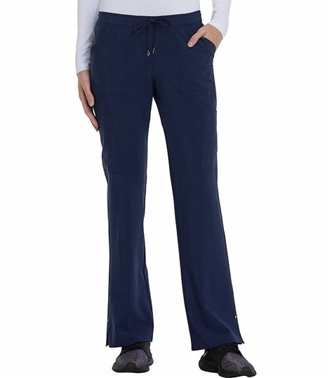 HeartSoul  Women's Low Rise Drawstring Scrub Pants-HS025