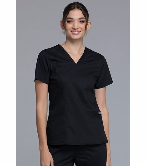Cherokee Workwear Revolutions Women's V-Neck  Scrub Top-WW710