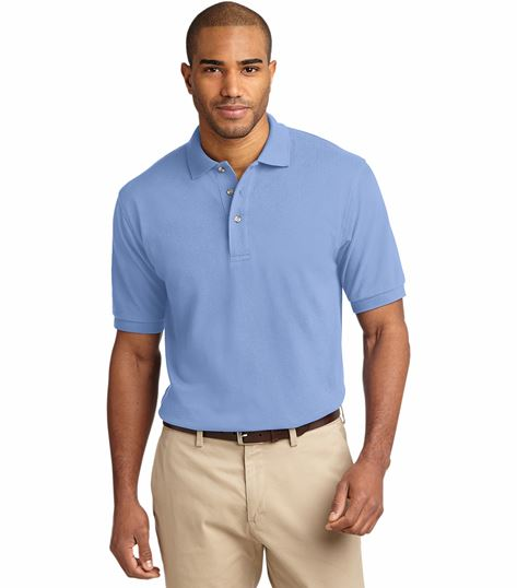 Port Authority Port Authority Men's Heavyweight Cotton Pique Polo SAK420