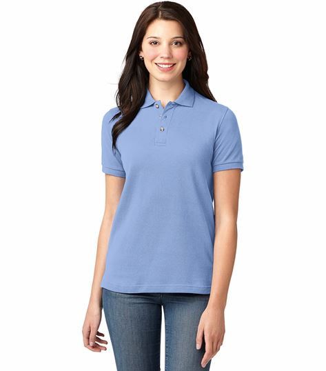 Port Authority Port Authority Women's Heavyweight Cotton Pique Polo SAL420