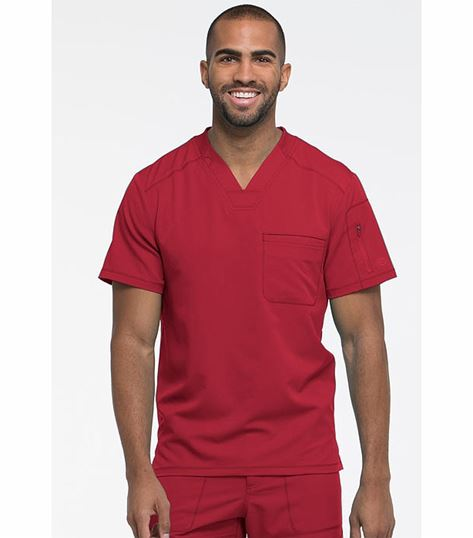 Dickies Dynamix Men's Stretch V-Neck Scrub Top-DK610