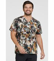 Dickies EDS Men's Printed Stretch V-Neck Scrub Top-DK725