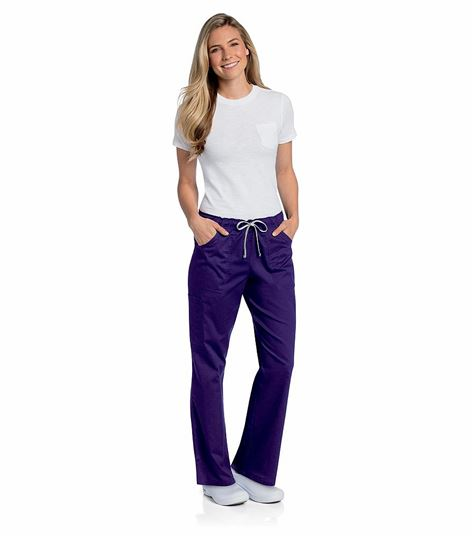 All Day by Landau WOMENS ALL DAY FULL ELASTIC CARGO PANT 2035
