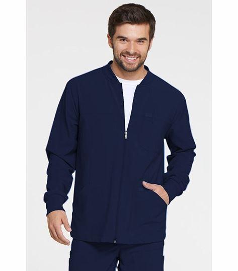 Dickies Everyday Scrubs Men's Zip Front Warm-up Jacket DK320