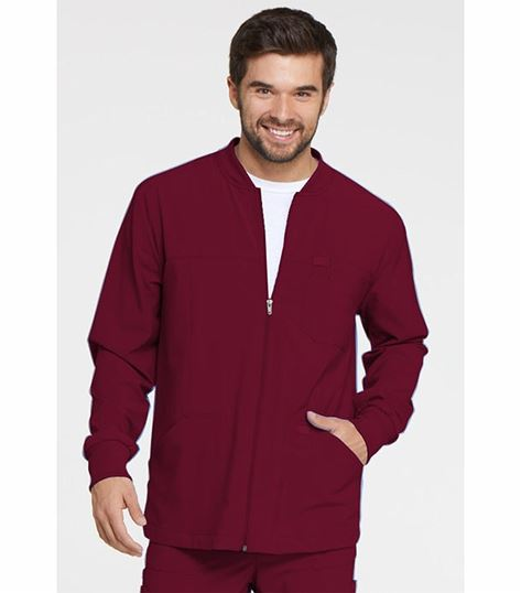 Dickies EDS Men's Zip Front Warm-Up Scrub Jacket-DK320