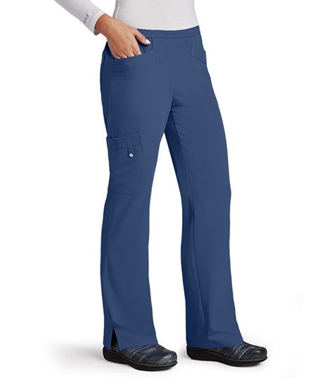 Grey's Anatomy Signature Women's Elastic Back Cargo Scrub Pants-2208