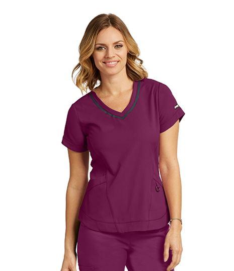 Grey's Anatomy Impact Women's Harmony V-Neck Scrub Top-7187