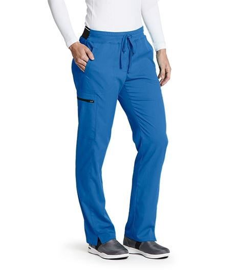 Grey's Anatomy Spandex Stretch Women's Drawstring Cargo Scrub Pants-GRSP500