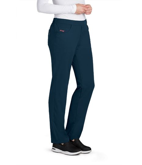 Grey's Anatomy Spandex Stretch Women's Flat Front Scrub Pants-GRSP510