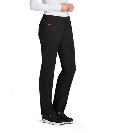 Grey's Anatomy Spandex Stretch Women's Flat Front Scrub Pants-GRSP510