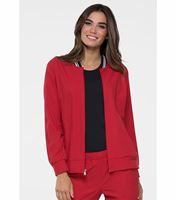 Elle Bomber Warm Up Scrub Jacket-EL310