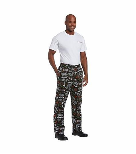 All Day by Landau UNISEX ULTIMATE COTTON CHEF PANT CW3500