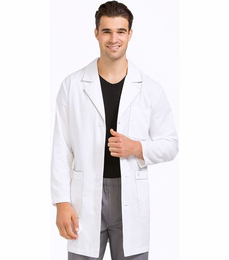 "Med Couture Mc2 Men's 38"" Doctor Length Lab Coat-3048"
