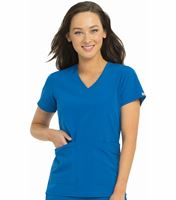 Med Couture 4-Ever Flex Women's Admire V-Neck Scrub Top-3434