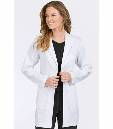 "Med Couture Women's 34"" Mid Length Lab Coat-6454"