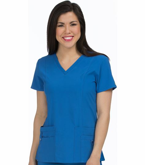 Med Couture Activate In-Motion Women's Classic V-Neck Scrub Top-8408