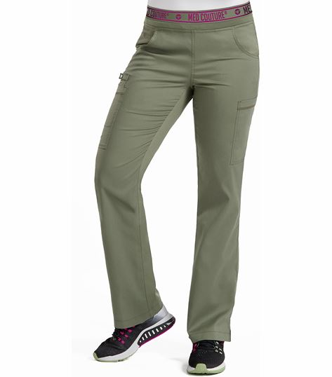 Med Couture Touch Women's Yoga Cargo Ally Pant-7739