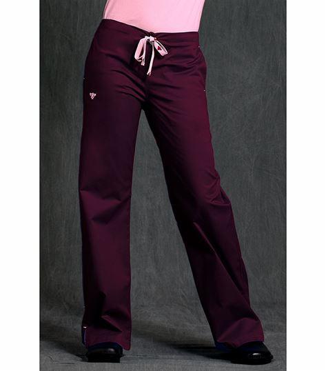 Med Couture Signature Women's Back Elastic Waist Scrub Pant-8705