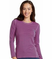 Med Couture Activate Women's Performance Printed Underscrub Tee-8522