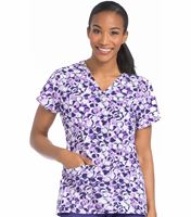 Med Couture Prints Women's Print Sky High Print Top-8575